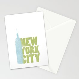 New York City - Empire State Stationery Cards