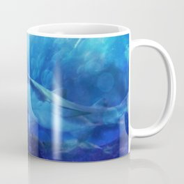 Make Way for the Great White Shark King  Coffee Mug