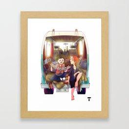 Tododeku Camper Framed Art Print