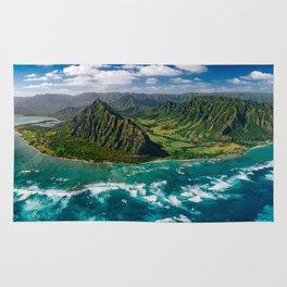 Jurassic Park Panoramic Rug