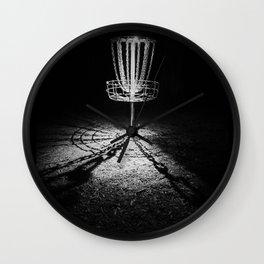 Disc Golf Chains Wall Clock