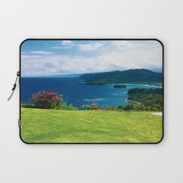 Color photo of Firefly view in Ocho Rios, Jamaica by Larry Simpson Laptop Sleeve