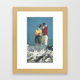 Jim and Christine Framed Art Print