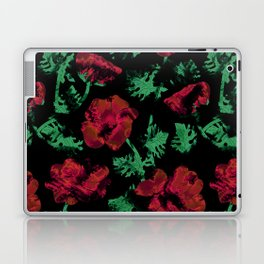 Abstract pattern . Red poppies. Laptop & iPad Skin