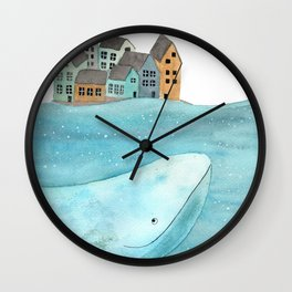 I'm here with you Wall Clock