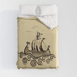 Viking ship 2 Duvet Cover