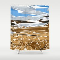 iceland Shower Curtains featuring iceland by Matthias Hennig