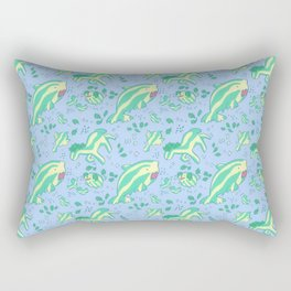 super watermelon wildlife Rectangular Pillow