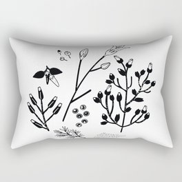 Spring Sprig Rectangular Pillow