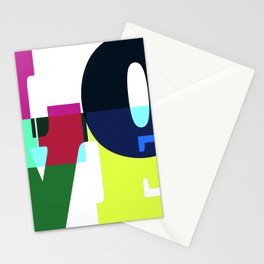 One Word: LOVE Stationery Cards