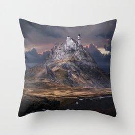 Forgotten World: Schwanstein Throw Pillow