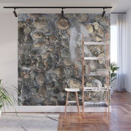 Watercolor Ice 20, On Thin Ice Wall Mural