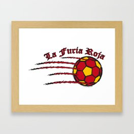 Spain La Furia Roja (The Red Fury) ~Group B~ Framed Art Print
