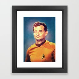 Captain Bill Framed Art Print
