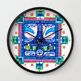 A Blue Night Wall Clock