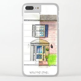 Welcome Home Lynchburg Clear iPhone Case