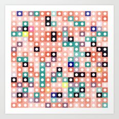 square dance Art Print
