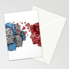 Head of the mechanisms Stationery Cards