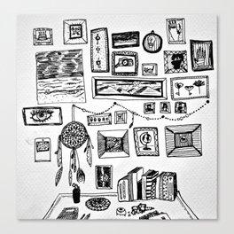 na. Canvas Print