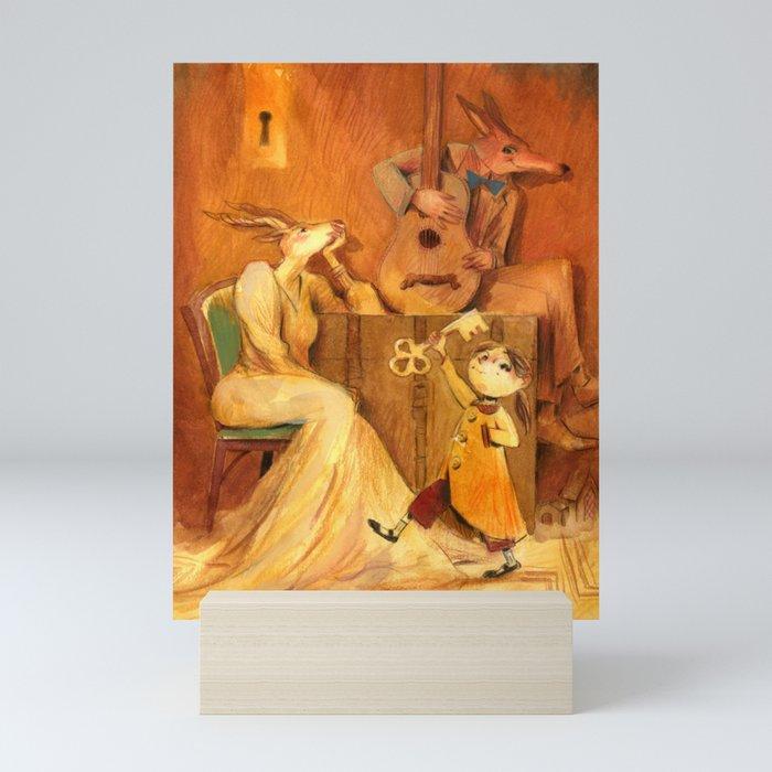 Boxes Mini Art Print