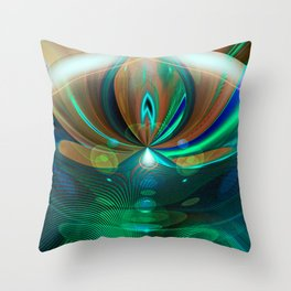 """Mr Roboto 3"" Throw Pillow"