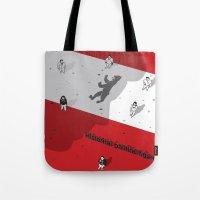 political Tote Bags featuring Historical Political Figure by Pier Antonio Zanini