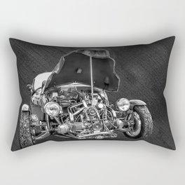 Vintage Cycle Car Rectangular Pillow