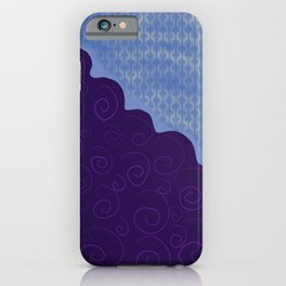 Curly Lasers iPhone Case