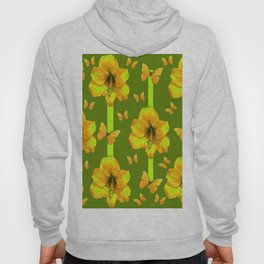 "GREEN AMARYLLIS ""FOR THE LOVE OF BUTTERFLIES"" Hoody"