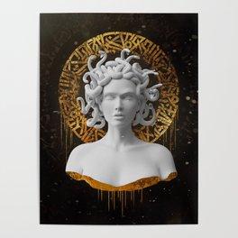 Medusa Aurora Poster