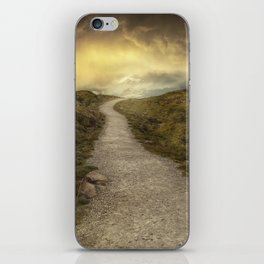 Sunrise over Skye Island iPhone Skin