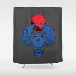 Escarabeo Shower Curtain