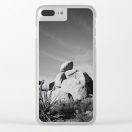 Joshua Tree National Park XIV Clear iPhone Case
