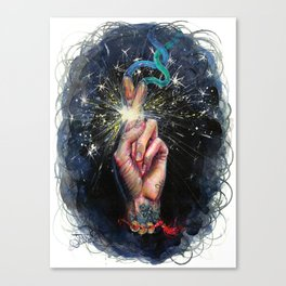 Luck Machine Canvas Print