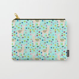 Llama Party! Carry-All Pouch