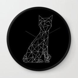 Eleven Quads Cat Wall Clock