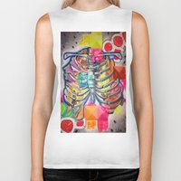 health Biker Tanks featuring Hustle for Health by Lilia