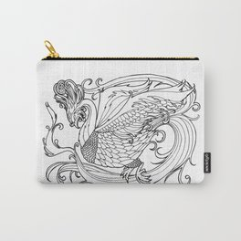 Simurgh from the Bestiary Coloring Book Carry-All Pouch