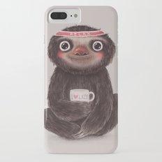 Sloth I♥lazy Slim Case iPhone 7 Plus