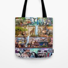 The Amazing Animal Kingdom Tote Bag