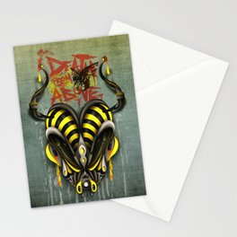 Death From Above Stationery Cards