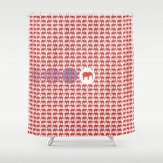 ELEPATTERN Shower Curtain