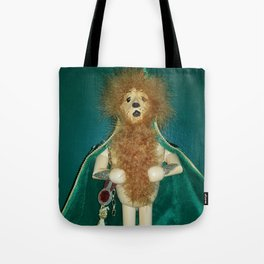 The Cowardly Lion Tote Bag