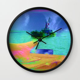 View of The Lady In Waiting Wall Clock