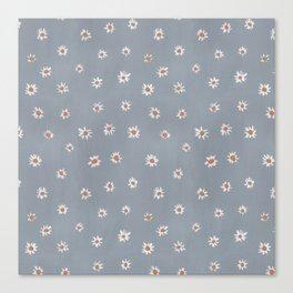 daisy pattern Canvas Print
