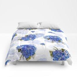 Cape Cod Hydrangea Nosegays Comforters