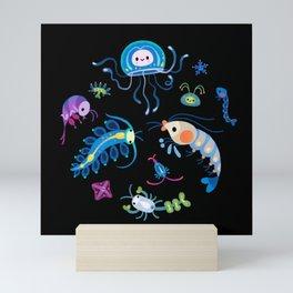Zooplankton Mini Art Print