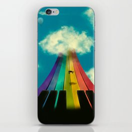 Seven notes, seven colors iPhone Skin