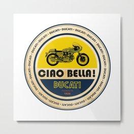Ducati Metal Print