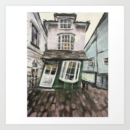 The Crooked House on Windsor Art Print